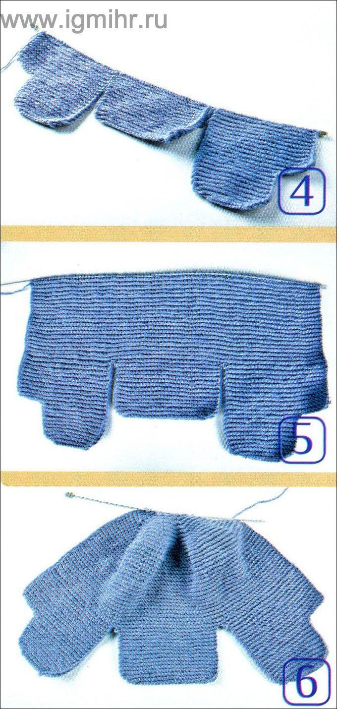 схемы вязания мужских шапок с козырьком спицами с описанием