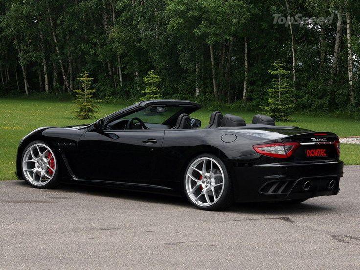 2013 Maserati GranCabrio MC By Novitec Pictures, Photos