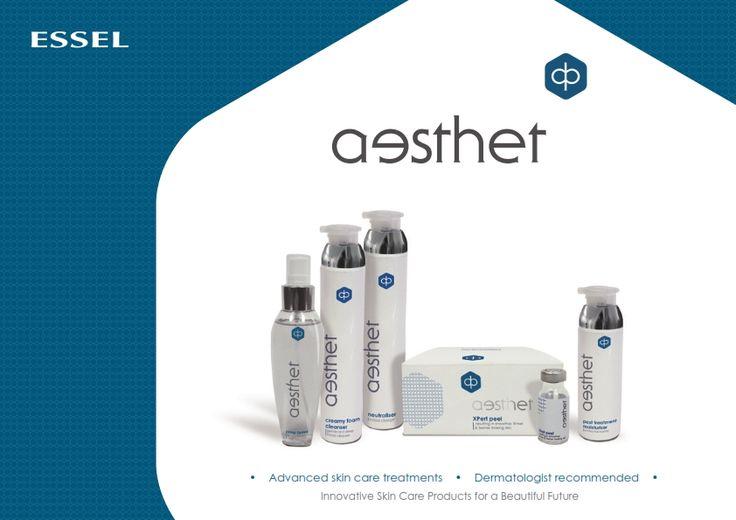 Advanced skin care treatments Essel's Aesthet Professional Salon Range