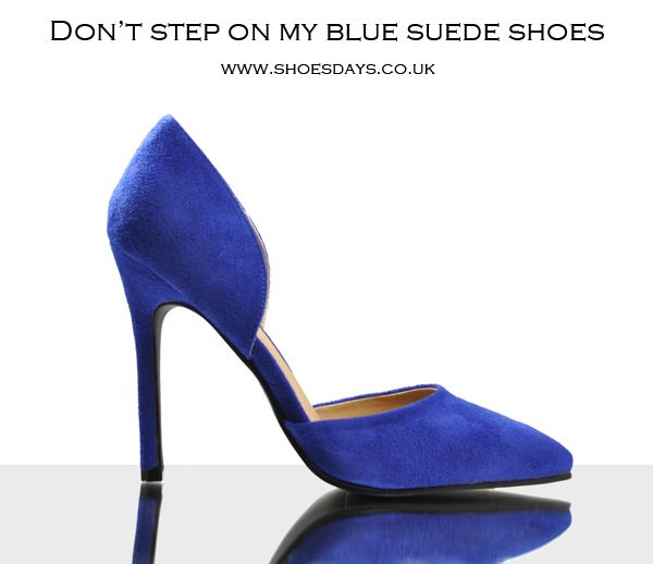 Are you a blue shoe lover?  Visit our latest arrivals!!
