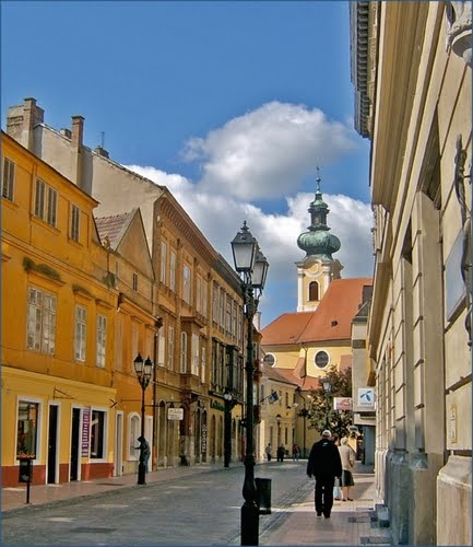 Győr, hometown