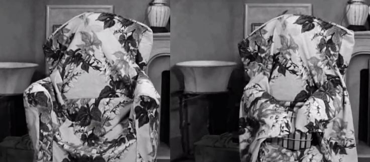 I Love Lucy Episode Lucille Ball Disguised As Chair In