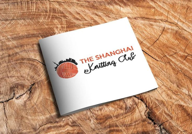 The Shanghai Knitting Club logo by Zsu-Webdesign