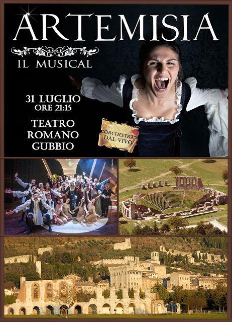 Riflettori su...di Silvia Arosio: Artemisia il Musical: prossimo appuntamento al Tea...