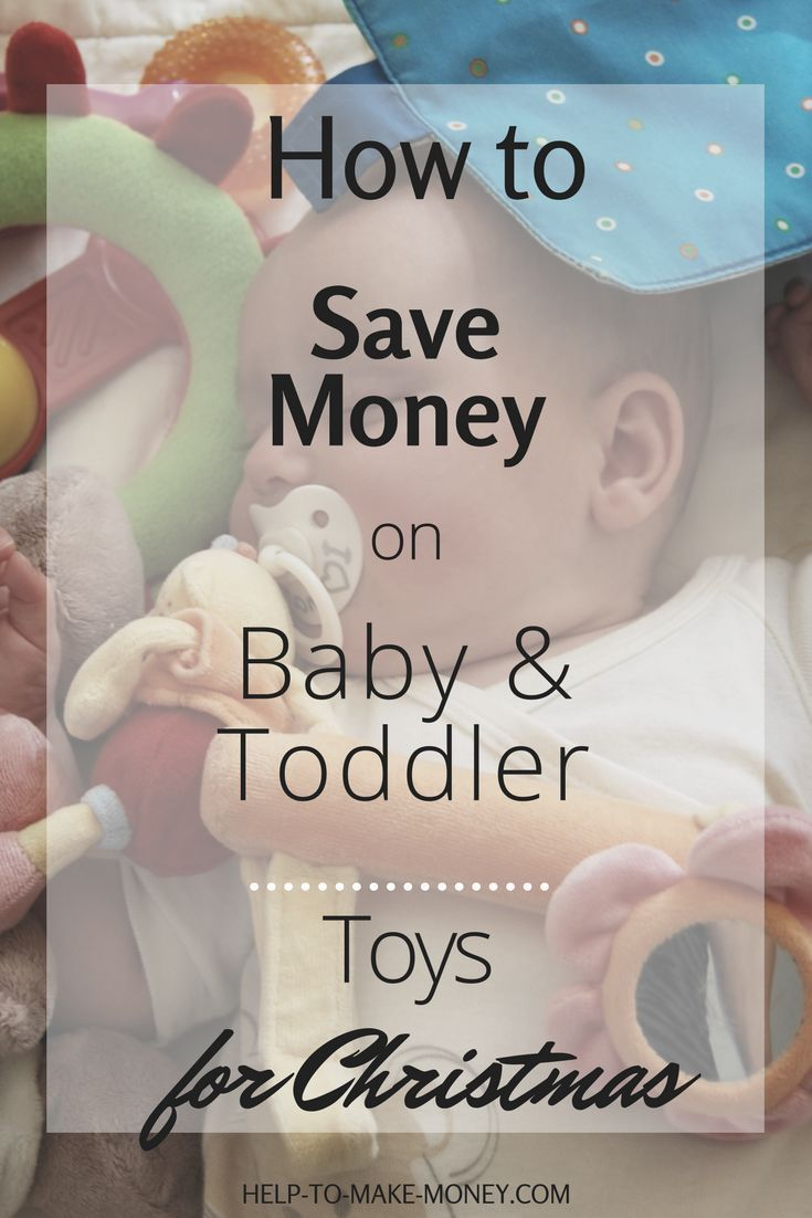 Excellent advice about how every parent can save money on toys for Babies and Toddlers. This post is perfect for Christmas presents ;) Check it out!
