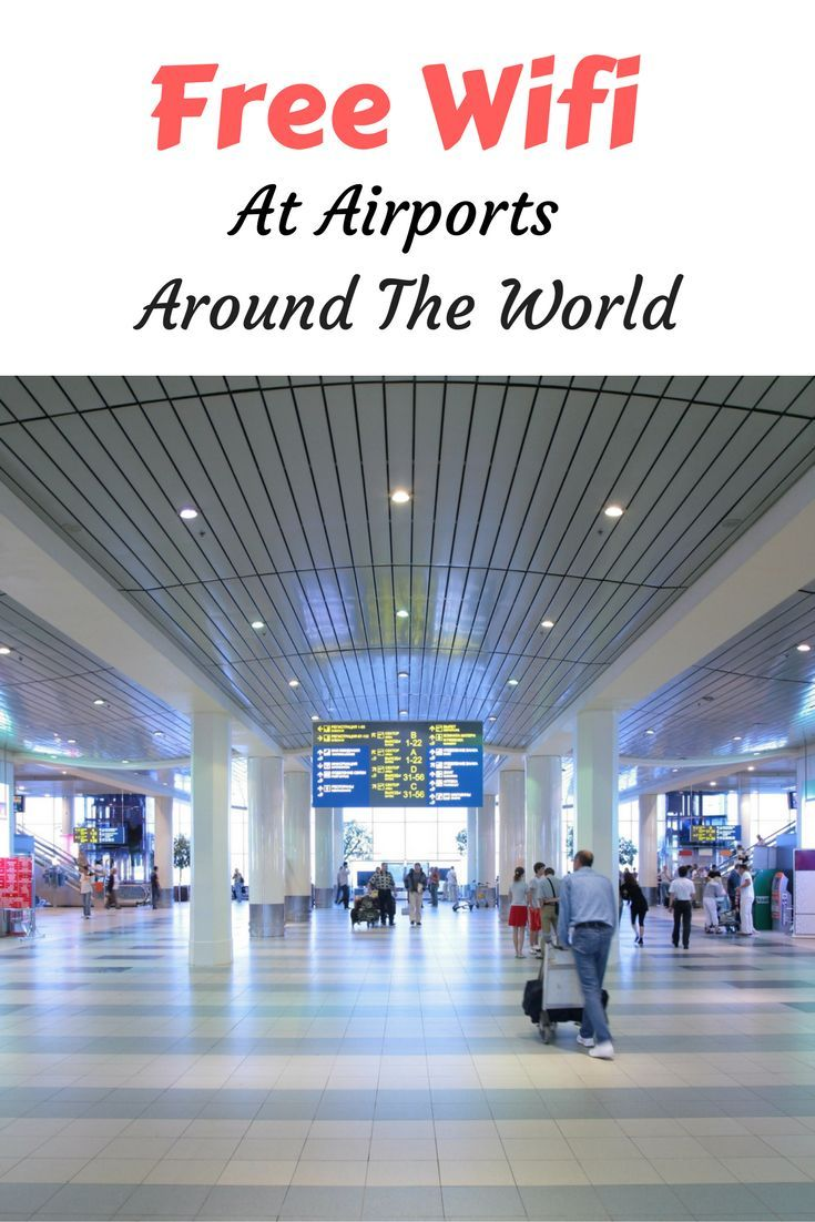 WiFi passwords for airports around the world. Find out more on how to access free Wifi!