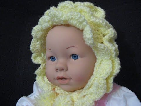 Free Crochet Patterns for Baby Bonnets