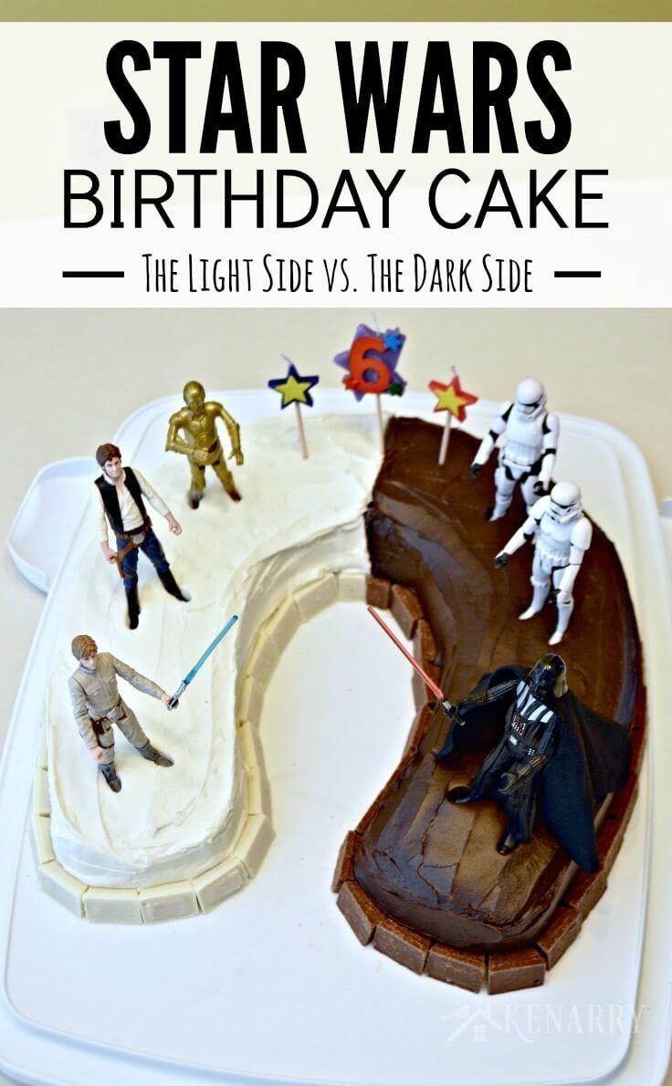 Star Wars Geburtstagstorte Ideen Star Wars Geburtstagstorte Eine einfache Idee und Party Supplies   – ethan