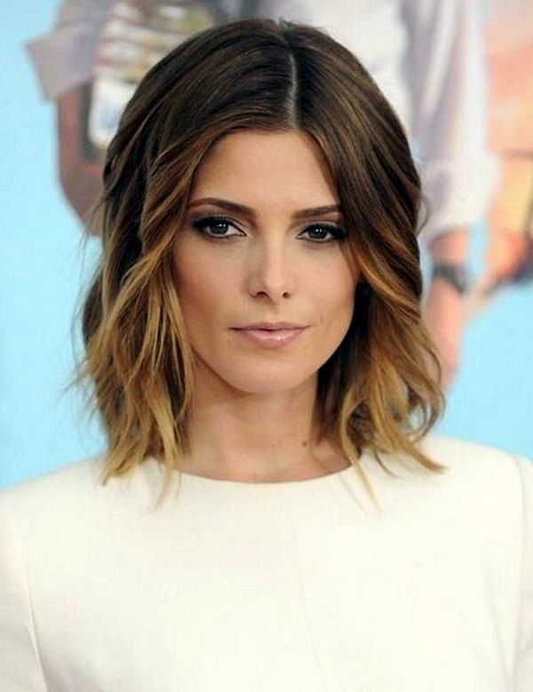 25 best ideas about shoulder length hairstyles on