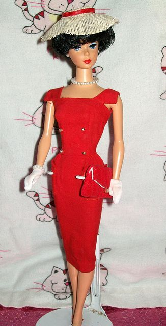 1961 Sheath Sensation Barbie - JUST LIKE MY BARBIE! Memories! And my Aunt made ALL of her wardrobe!