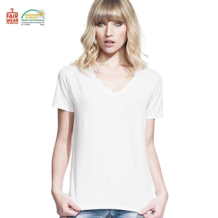 Blank Clothing - LUX | Women V Neck Boyfriend Tee Fair Trade (https://www.blankclothing.com.au/lux-women-v-neck-boyfriend-tee-fair-trade/)