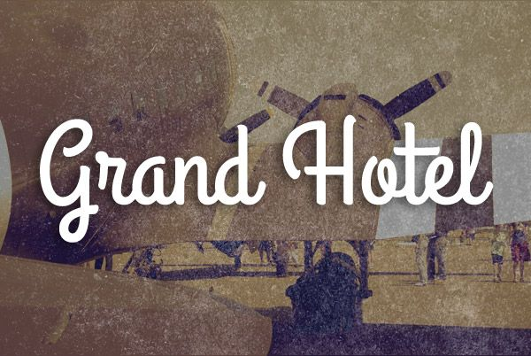 FREE FONTS Grand Hotel - Google Search - see font squirrel