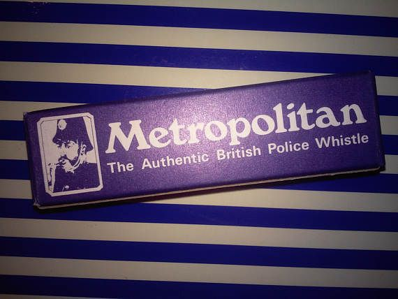 Check out this item in my Etsy shop https://www.etsy.com/listing/509789646/british-police-whistle-new-old-stock