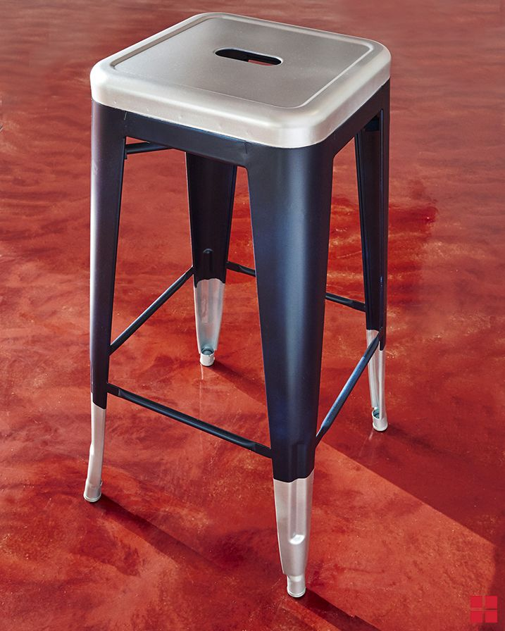 You Can Make This Industrial Barstool For Your Garage, Workshop, Or Man  Cave With Just A Few Coats Of Rust Oleum Spray Paint.