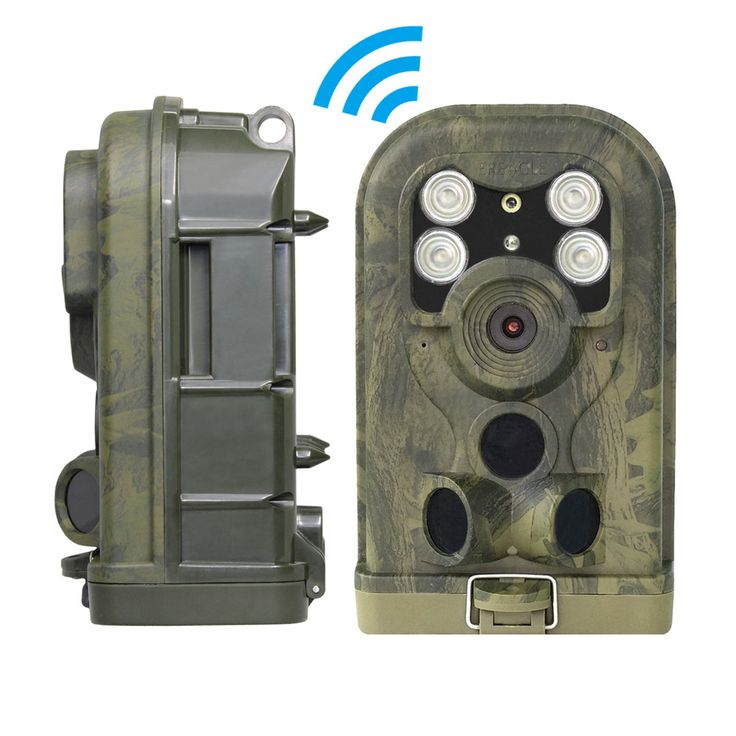 Hunting Camera Hunting Trail Cam for Wildlife Animal Surveillance Triggered by Motion and Image Uploaded via GPRS