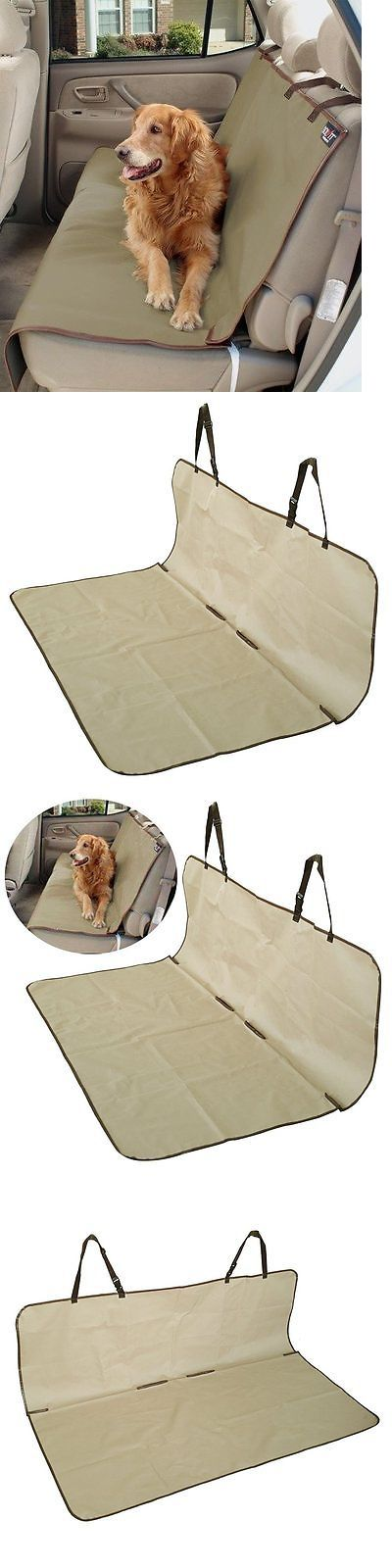 Car Seat Covers 117426: Solvit 62313 Waterproof Car Bench Back Seat Cover For Pets Dogs Cats New -> BUY IT NOW ONLY: $30.99 on eBay!