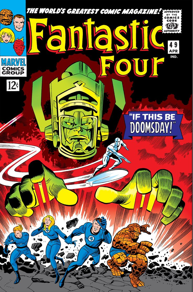 Fantastic Four (1961) Issue #49 - Read Fantastic Four (1961) Issue #49 comic online in high quality