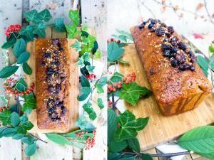 Pain d'épices aux cranberries, cerises séchées et au sirop de cannelle • Hellocoton.fr