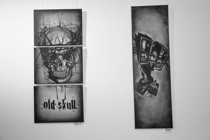 """Old Skull"" by tzartworx  Like and Share www.facebook.com/tam.zamani.art"