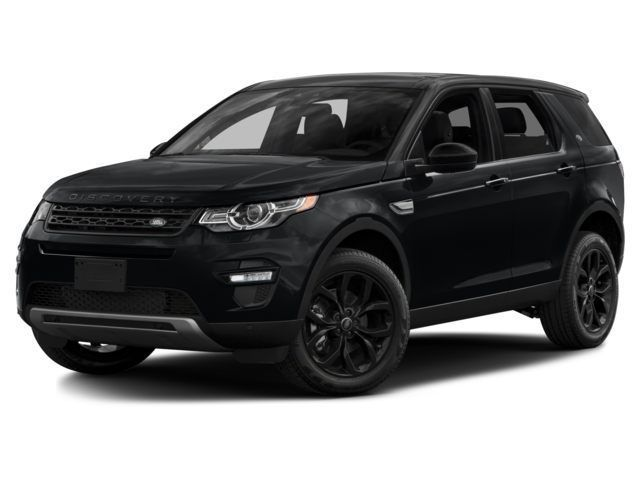 Land Rover Discovery Sport Black on Black