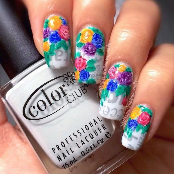 Best 25 newspaper nail art ideas on pinterest diy nails with 20 cool newspaper nail art ideas prinsesfo Images