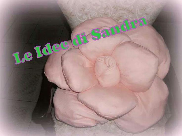 Rosa in tessuto