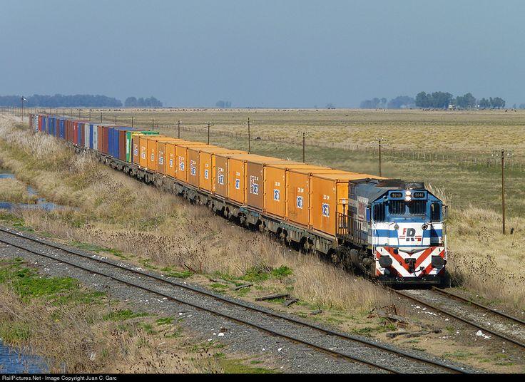 Ferrosur Roca EMD GT22CW at Buenos Aires, Argentina