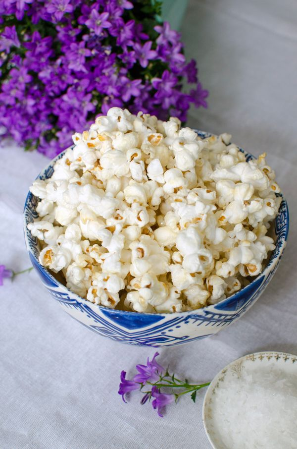 Honey Sea Salt Popcorn Recipe: I've made this several times, and it is the perfect sweet & salty snack food. I add a pinch of Chipotle powder for a spicy kick, and use a blend of organic maple syrup and honey for the sweet portion.  My favorite popcorn recipe yet!