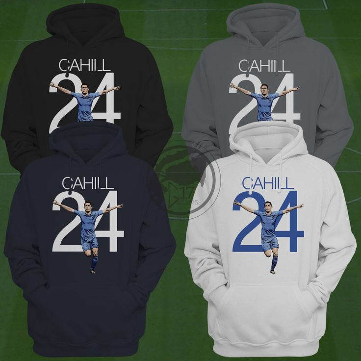 Gary Cahill Chelsea Hoodie - Chelsea Soccer Sweatshirt - Size S to XXL -Custom Apparel Football, soccer, premier league, chelsea fc by Graphics17 on Etsy
