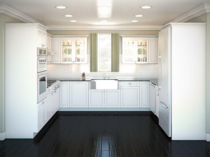Kitchen Design C Shape 13 best kitchen u-shaped with end window images on pinterest