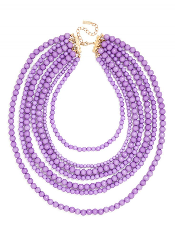 Bold Beaded Strands Necklace- favorite Pinterest pins