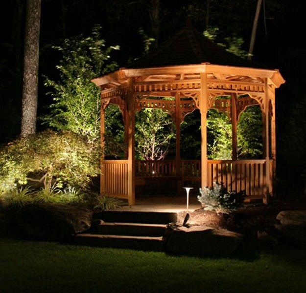 17 best ideas about gazebo lighting on pinterest - Outdoor gazebo lighting ideas ...