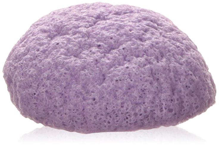 Dr Sponge Facial Cleansing Sponge, Lavender. Suitable for all skin types and ages. Extremely gentle and contains no harmful ingredients. Clears pores, removes makeup, oil and blackheads.