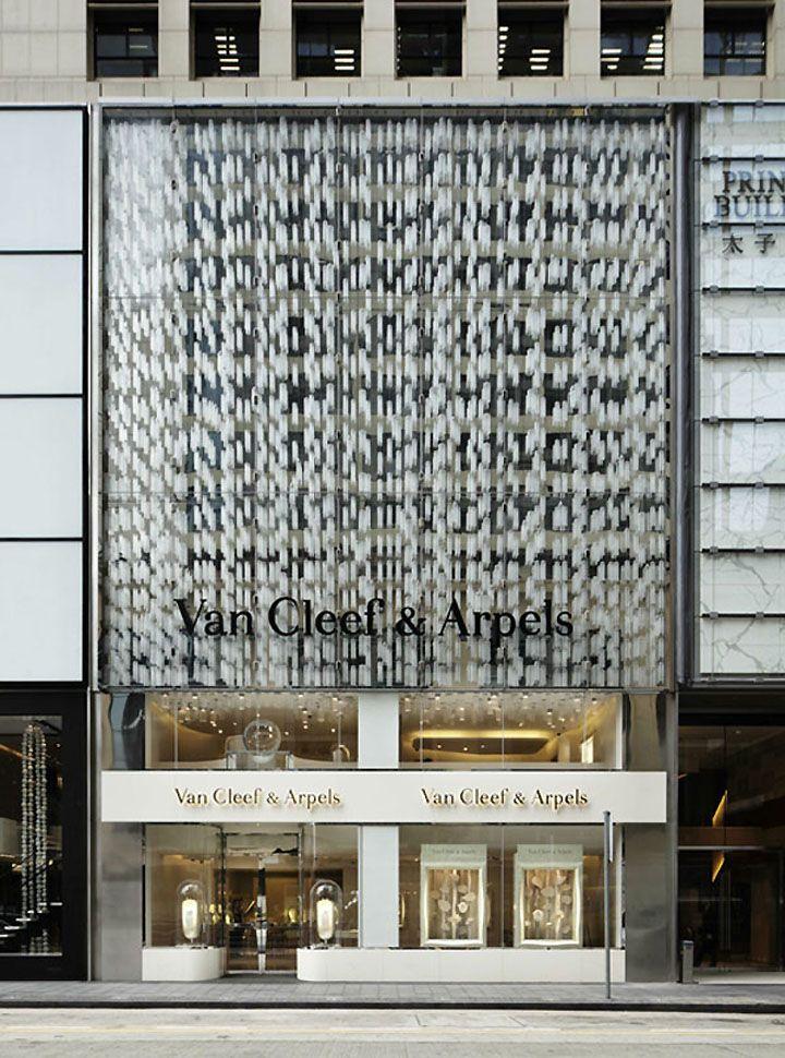 Van Cleef & Arpels flagship store by Jouin Manku, Hong Kong store design