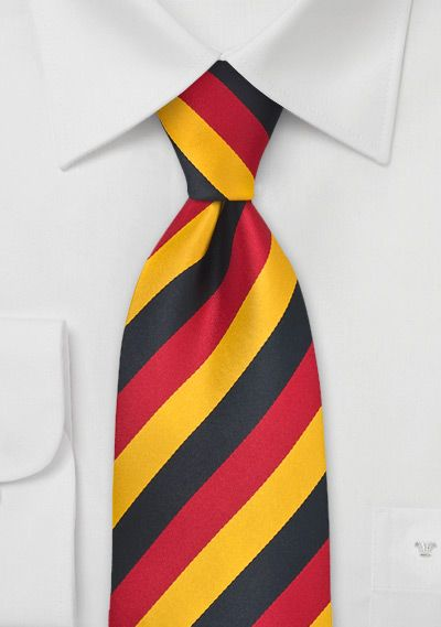 National-Kinderkrawatte Schwarz-Rot-Gold . . . . . der Blog für den Gentleman - www.thegentlemanclub.de/blog