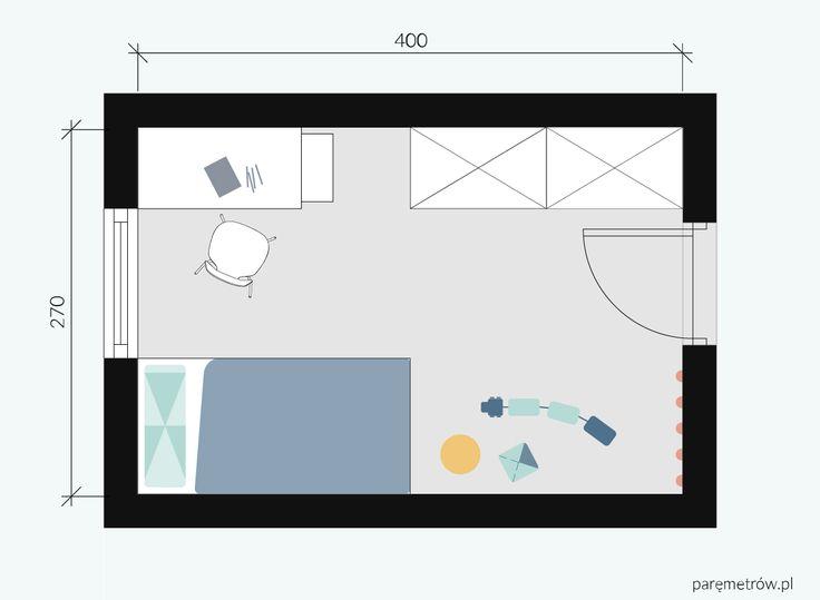 Pokój dziecka   Parę Metrów / Kids room / Interior