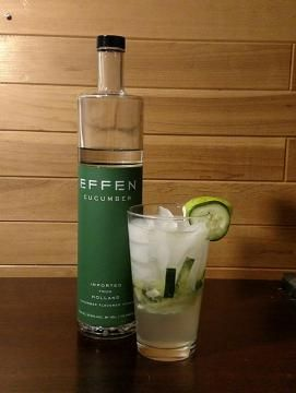We are back with part 2 of 4 using Effen Cucumber Vodka to craft wonderful cocktails. This week's drink is called Shooting the Breeze. It uses fresh fruit and vegetables to bring out the flavor, all the while being remarkably easy to make.