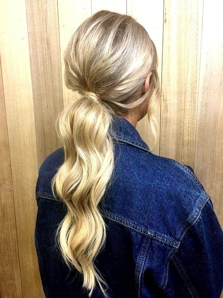 How To: The Perfect Ponytail for Thin Hair chelseabourke.com instagram/chelseabourke #blonde #hairstyles #updo #curls #waves #beauty #beautytips #denim #jacket #love #summer #goals