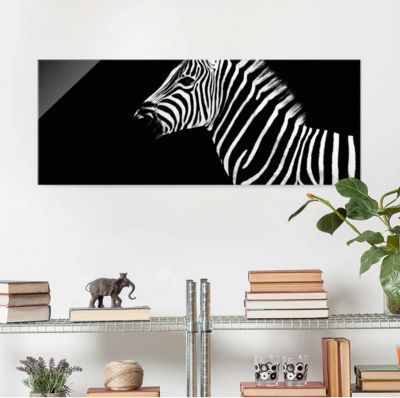 Glasbild - Zebra Safari Art - Panorama Quer 30x80-0.00-PP-GB Jetzt bestellen unter: https://moebel.ladendirekt.de/dekoration/bilder-und-rahmen/bilder/?uid=9d41221b-2fec-5d37-8921-7c34c70a0857&utm_source=pinterest&utm_medium=pin&utm_campaign=boards #heim #bilder #rahmen #dekoration