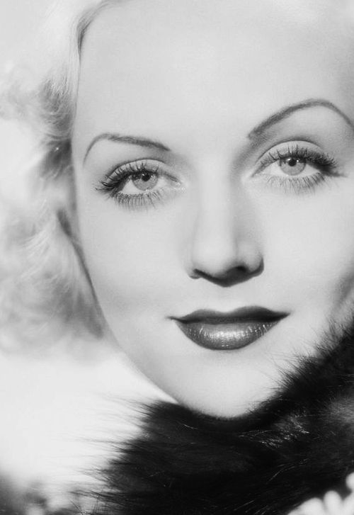 1930's - Carole Lombard, whose death broke husband, Clark Gable's, heart.