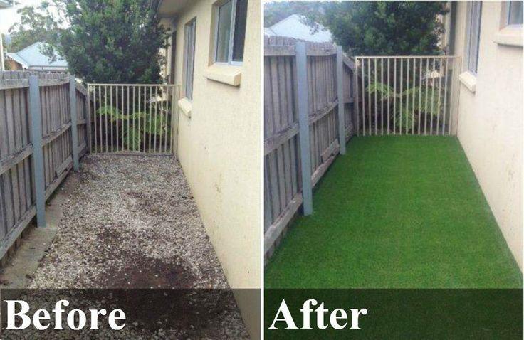 Before & After Summer Grass 30