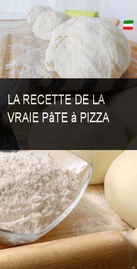 La recette de la vraie pâte à pizza #Pate #Pizza #Recette