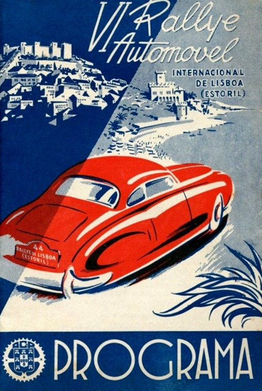 1952 Automobile Rally in Lisbon