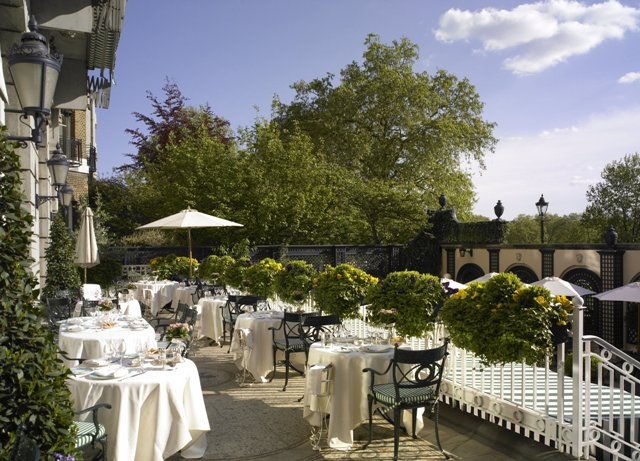 The Ritz Restaurant Terrace