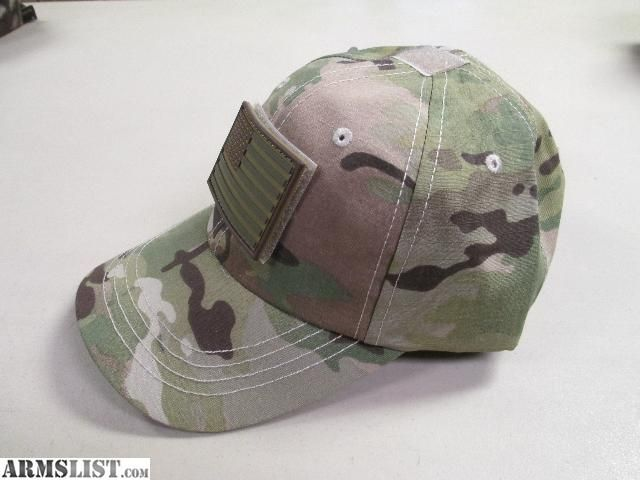 OD Green American Flag | For Sale: MultiCam Tactical Cap w/Flag Patch
