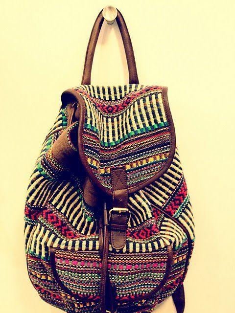 waaaant: Indian Prints, Cute Backpacks, Summer Travel, Super Cute, Fashion Photography, Beaches Bags, Tribal Bags, Tribal Prints, Style Fashion
