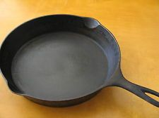 Wagner Cast Iron Skillet 10C Heat Ring 1920-1924
