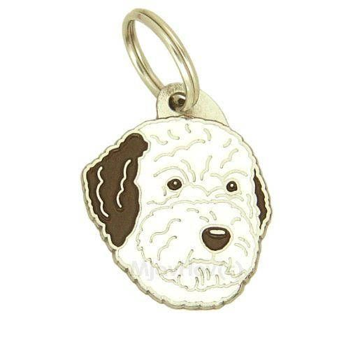Pet ID tag Dog ID tag Personalised stainless steel breed