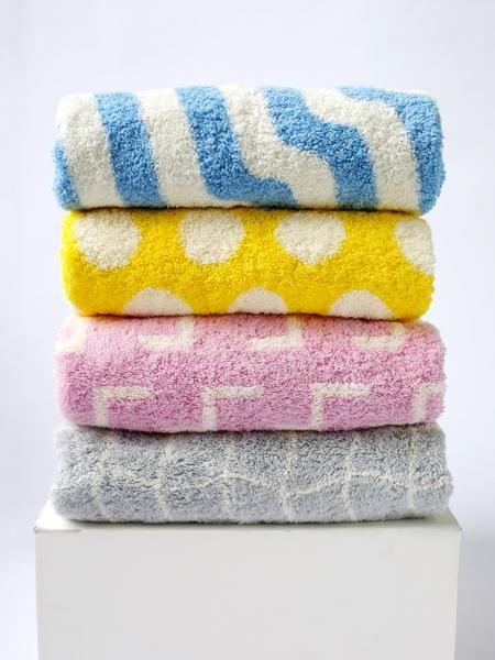 Set of Four Bath Towels