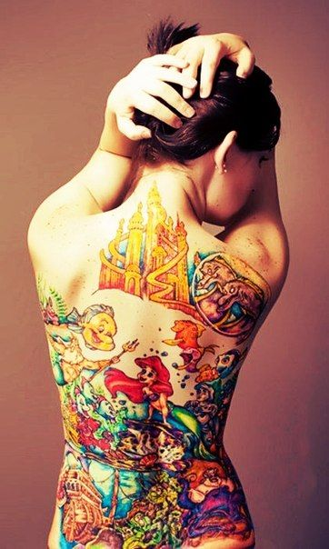 Interesting little mermaid tattoo i would never but holy for Little mermaid tattoos